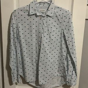 Fitted Boyfriend Dress Shirt
